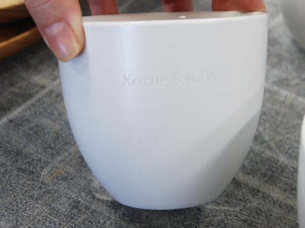 陶器ブラスト名入れ